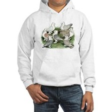 Classic Frill Pigeons Hoodie Sweatshirt