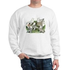Classic Frill Pigeons Sweater