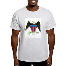 American Eagle Ash Grey T-Shirt