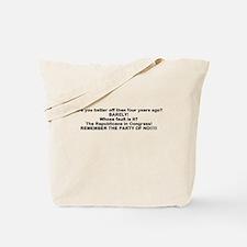 Republicans responsible Tote Bag