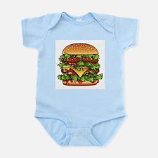 Yummy Hamburger 2 Infant Bodysuit