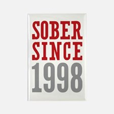Sober Since 1998 Rectangle Magnet