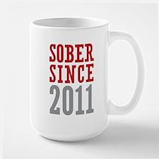 Sober Since 2011 Mug