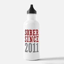 Sober Since 2011 Water Bottle