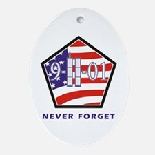 NEVER Forget - Ornament (Oval)