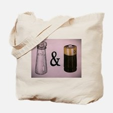 A Salt and Battery Tote Bag