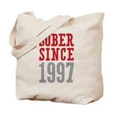 Sober Since 1997 Tote Bag