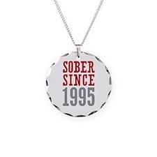 Sober Since 1995 Necklace