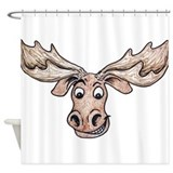 Canada moose Shower Curtains