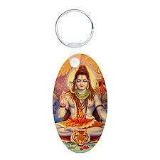 Lord Shiva Meditating Keychains