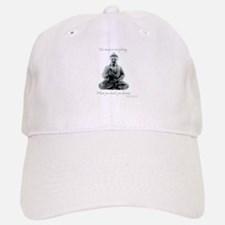 Buddha quote : Mind is Everything Baseball Baseball Cap