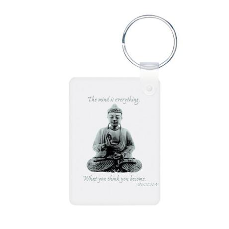 Buddha quote : Mind is Everything Aluminum Photo K