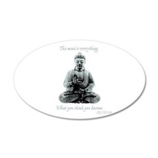 Buddha quote : Mind is Everything Wall Decal