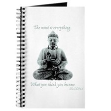 Buddha quote : Mind is Everything Journal