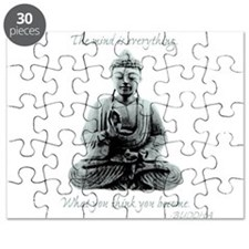 Buddha quote : Mind is Everything Puzzle