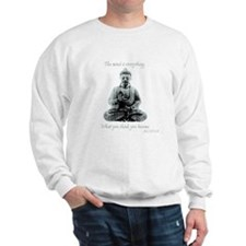 Buddha quote : Mind is Everything Jumper