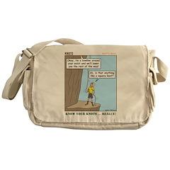 Knots Knots Messenger Bag