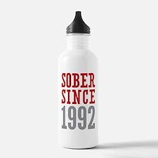 Sober Since 1992 Water Bottle