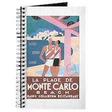 Monte Carlo Retro Poster Journal