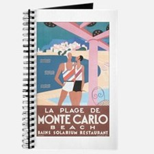 Monte Carlo Retro Poster Journal