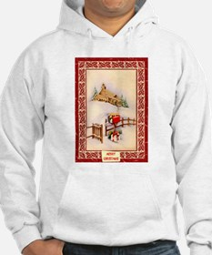 Christmas gifts in the snow Hoodie