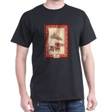 Christmas gifts in the snow T-Shirt