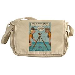 Weather Rock Rain Messenger Bag