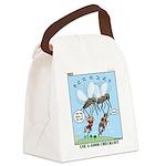 Bug Spray Canvas Lunch Bag