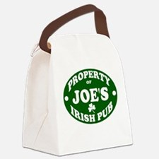 joe.png Canvas Lunch Bag