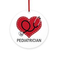 Pediatrician Gift Ornament (Round)