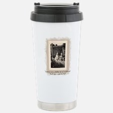 Cousins and Childhood Stainless Steel Travel Mug