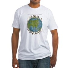 Geographic Tapestry Fitted T-Shirt
