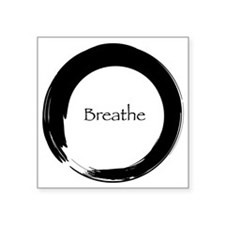 Enso with Breathe Sticker
