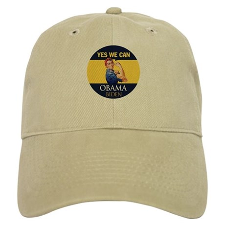 Obama Yes Rosie the Riveter Cap