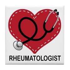 Rheumatologist Gift Tile Coaster