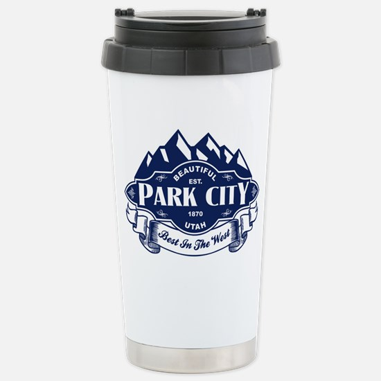 Park City Mountain Emblem Stainless Steel Travel M
