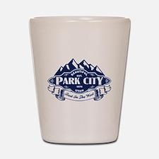 Park City Mountain Emblem Shot Glass