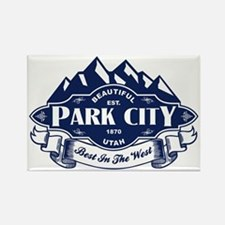 Park City Mountain Emblem Rectangle Magnet