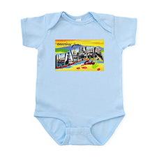 Havana Cuba Greetings Infant Bodysuit