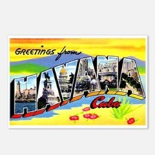 Havana Cuba Greetings Postcards (Package of 8)