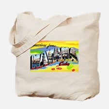 Havana Cuba Greetings Tote Bag