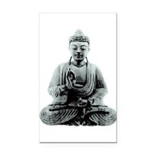 Buddha Rectangle Car Magnet
