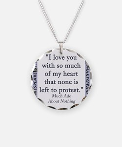 I Love You With So Much Of My Heart Necklace