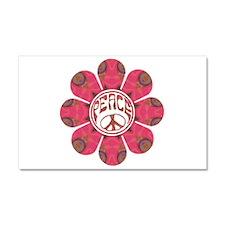 Peace Flower - Affection Car Magnet 20 x 12