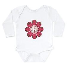 Peace Flower - Affection Long Sleeve Infant Bodysu