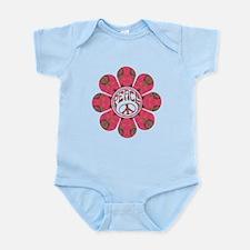 Peace Flower - Affection Infant Bodysuit
