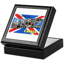 Montreal Quebec Canada Keepsake Box