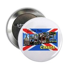 "Montreal Quebec Canada 2.25"" Button (100 pack)"