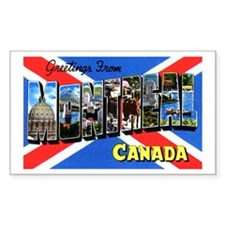 Montreal Quebec Canada Decal