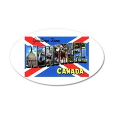 Montreal Quebec Canada Decal Wall Sticker